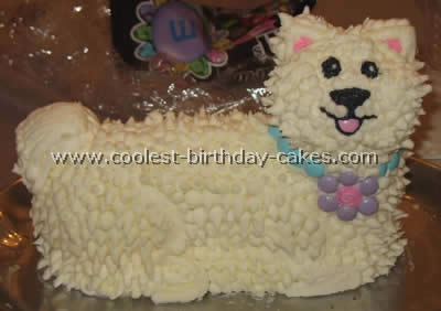 Coolest Dog Cake My Two Year Old
