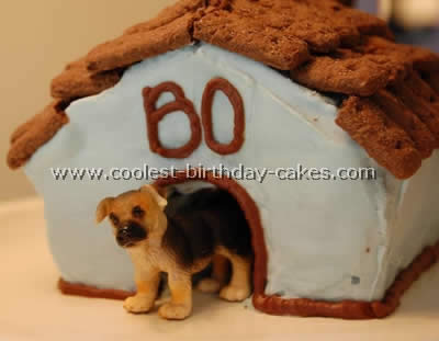 Coolest Dog House Cake Ideas and Photos