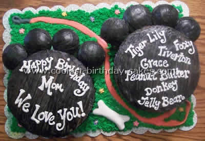 Coolest Dog Paws Cake Ideas and Photos