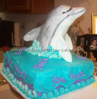 Swell Dolphin Picture Cake Ideas And How To Tips Funny Birthday Cards Online Alyptdamsfinfo