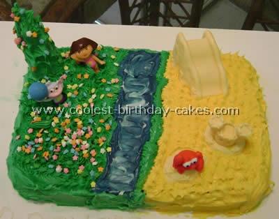 Coolest Dora Birthday Cakes