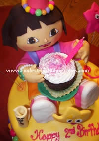 Dora the Explorer Cake Photo