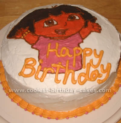 Outstanding Coolest Dora The Explorer Cake Ideas And Dora Cake Inspiration Birthday Cards Printable Benkemecafe Filternl