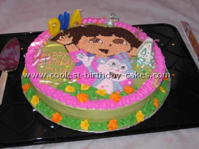 Cool Homemade Dora Birthday Cake Photos And How To Tips