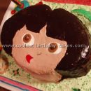Cool Homemade Dora Birthday Cake Photos and How-to Tips