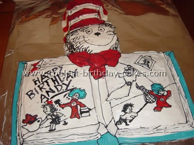 Miraculous Coolest Dr Seuss Birthday Cakes On The Webs Largest Homemade Personalised Birthday Cards Veneteletsinfo