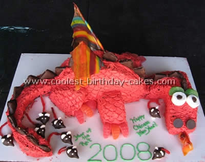 Coolest Dragon Cake Ideas and Photos