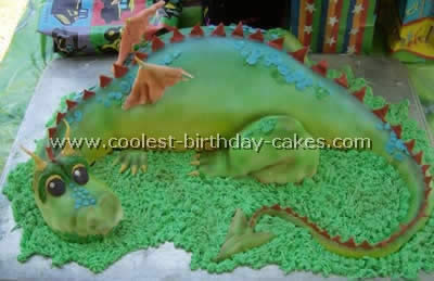Dragon Cake Photo