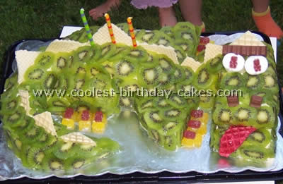 Coolest Ever Dragon Cakes