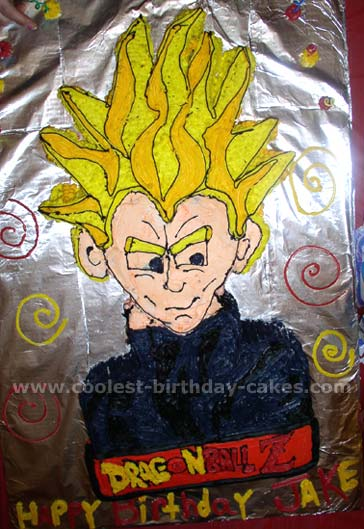 Coolest Dragonball Z Cakes On The Webs Largest Homemade Birthday Cake Gallery