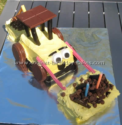 Cool Coolest Construction Cakes And Dump Cake Ideas Funny Birthday Cards Online Eattedamsfinfo