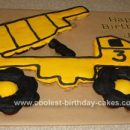 Coolest Dump Truck Birthday Cake by Jennifer from Forsyth, IL