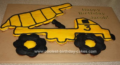 Astounding Coolest Dump Truck Cake Ideas Funny Birthday Cards Online Fluifree Goldxyz