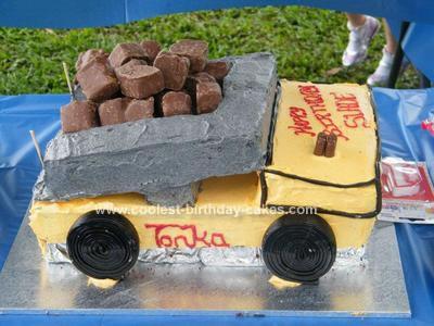 Fabulous Coolest Dump Truck Cake Ideas Funny Birthday Cards Online Necthendildamsfinfo