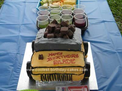 Incredible Coolest Dump Truck Cake Ideas Funny Birthday Cards Online Necthendildamsfinfo