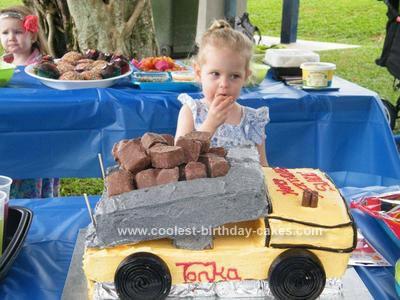 Remarkable Coolest Dump Truck Cake Ideas Funny Birthday Cards Online Necthendildamsfinfo