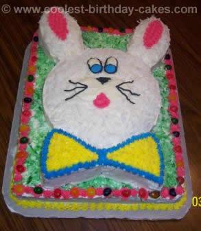 easter bunny cake pan