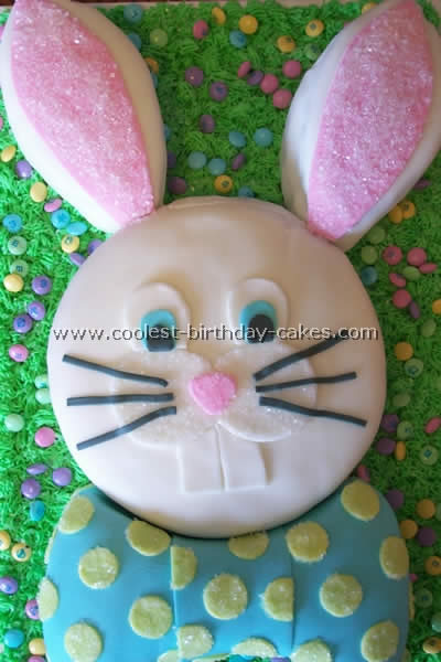 Remarkable Coolest Easter Bunny Cakes Funny Birthday Cards Online Hetedamsfinfo