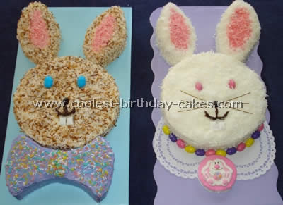Coolest Easter Bunny Cakes