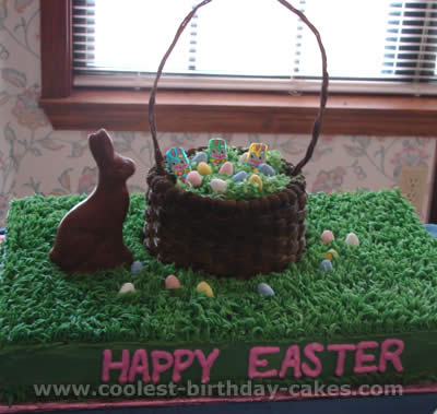 Basket Easter Cakes
