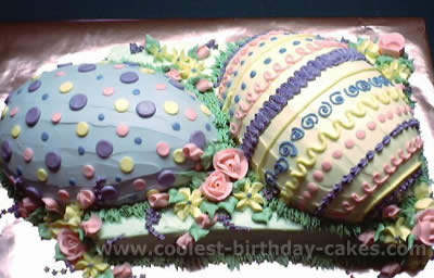 Coolest Easter Eggs Cakes Photos And How To Tips