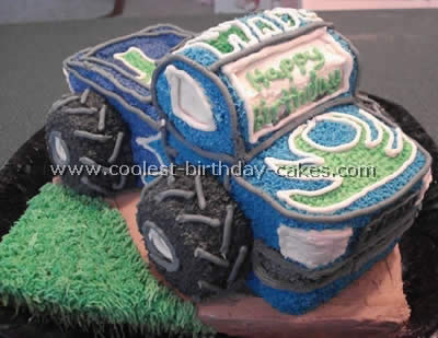 Super Easy Cake Recipe For The Coolest Ever Truck Cake Personalised Birthday Cards Sponlily Jamesorg