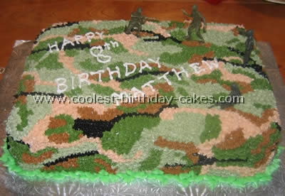 190 Coolest Homemade Military Theme Cakes