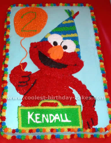 Awe Inspiring Coolest Elmo Birthday Cake Ideas Cake Decorating Inspiration For Personalised Birthday Cards Cominlily Jamesorg
