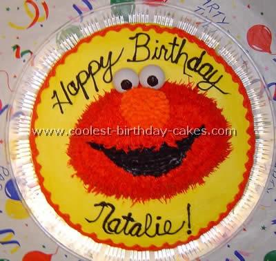 Elmo Birthday Cakes