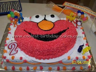 Coolest Elmo Birthday Cakes