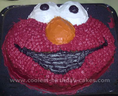Coolest Elmo Cake Photos And How To Tips