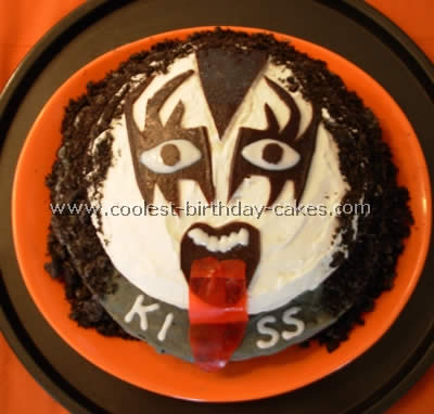 Super Coolest Homemade Kiss Cakes Funny Birthday Cards Online Overcheapnameinfo