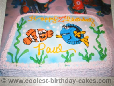 Finding Nemo Cake Photo