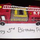 Coolest Fire Truck Cake Ideas