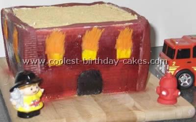 Firefighter Cake Photo