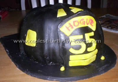 Coolest Firefighter Cake Photos and How-To Tips