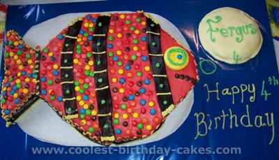 Fish Birthday Cake Photo
