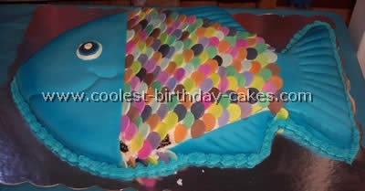Miraculous Coolest Fish Birthday Cakes Photo Gallery Personalised Birthday Cards Cominlily Jamesorg