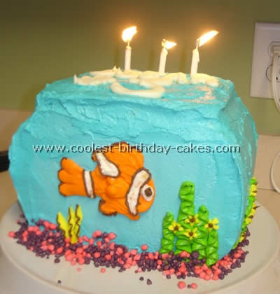 Brilliant Coolest Aquarium And Fish Birthday Cake Ideas Personalised Birthday Cards Cominlily Jamesorg