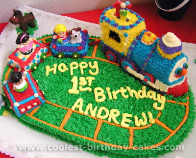 Fisher Price Little People Birthday Cake Idea