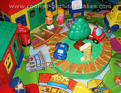 Excellent Coolest Fisher Price Little People Homemade Birthday Cakes Personalised Birthday Cards Beptaeletsinfo