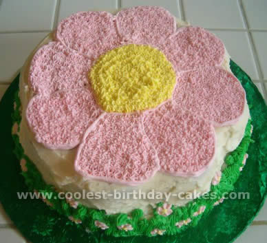 Coolest Flower Birthday Cake Photo Gallery And How To Tips