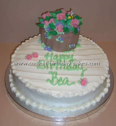 Coolest Flower Birthday Cake Photo Gallery and How-To Tips