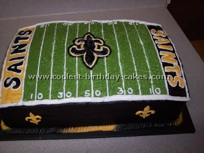 Cool Coolest Football Cake Photos And Amazing How To Tips Funny Birthday Cards Online Necthendildamsfinfo