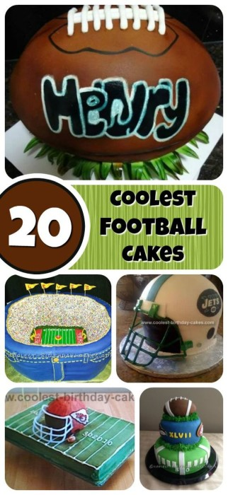 football-cake-collage