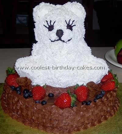 Free cake designs for a Bear Cake