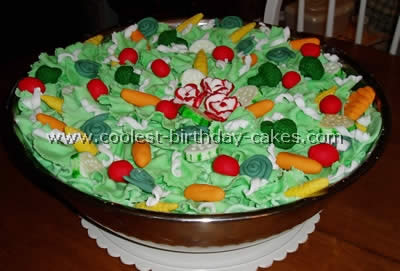 Salad-Shaped Cake