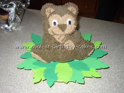 Coolest Teddy Bear Cakes and Free Cake Decorating Ideas
