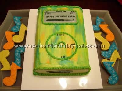 iPod Free Cake Recipes