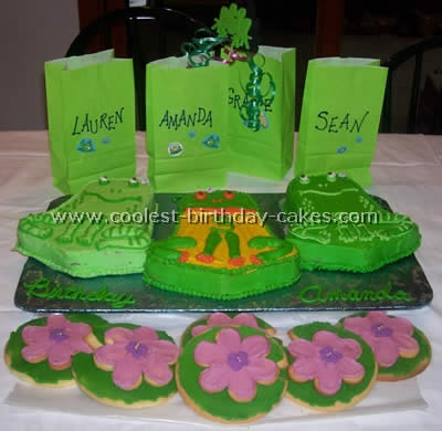 Coolest Frog Birthday Cake Recipe Ideas